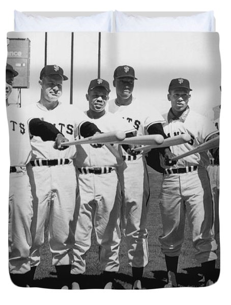 1961 San Francisco Giants Duvet Cover
