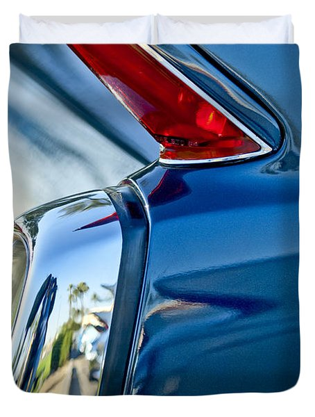 1962 Cadillac Deville Taillight Duvet Cover