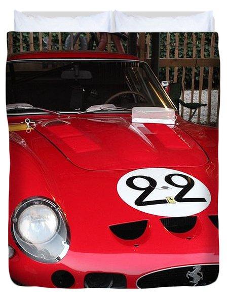 1962 Ferrari Gto Duvet Cover