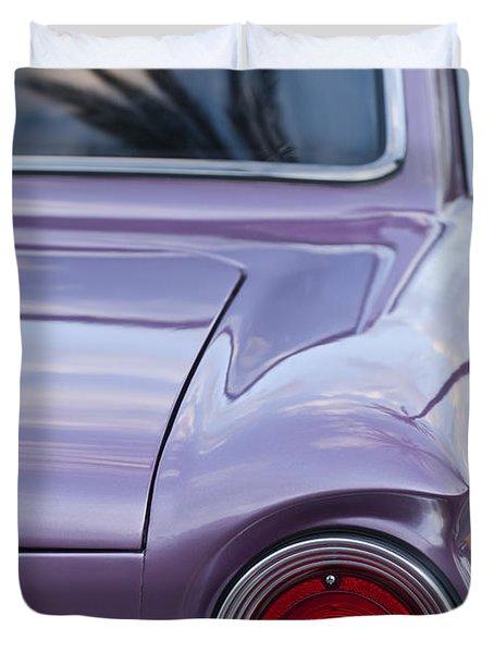 1963 Ford Falcon Tail Light Duvet Cover by Jill Reger
