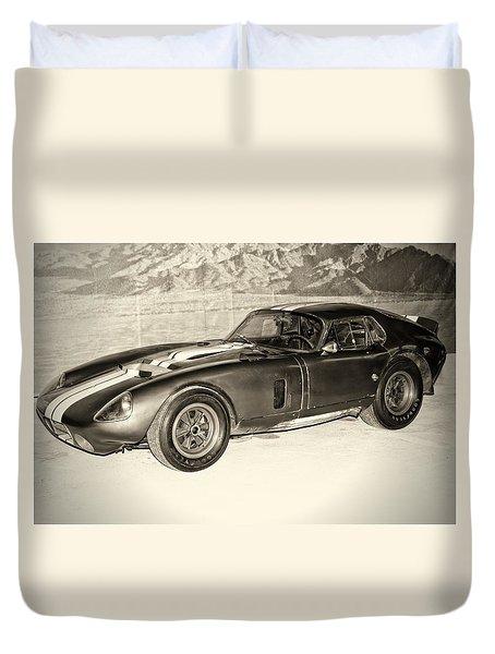 1964 Cobra Daytona Coupe Duvet Cover
