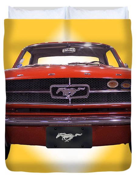 1964 Ford Mustang Duvet Cover