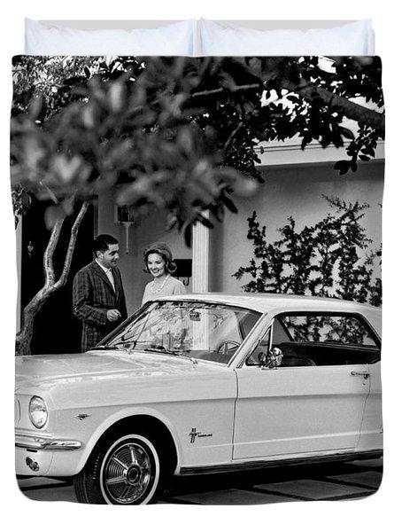1964 Ford Mustang Duvet Cover
