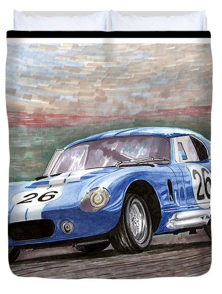 1964 Shelby Daytona Duvet Cover by Jack Pumphrey