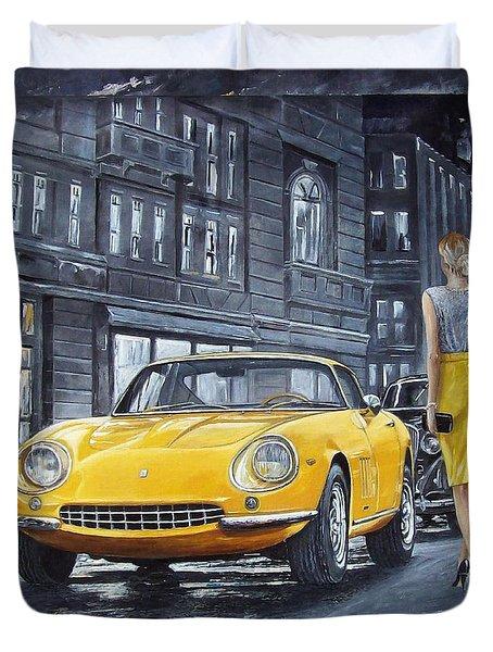 1965 Ferrari 275 Gtb Duvet Cover