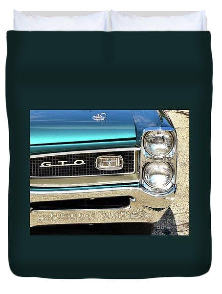 1966 Pontiac Gto Duvet Cover