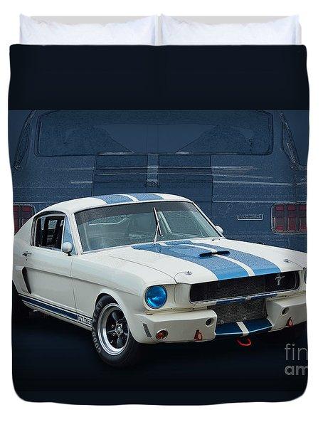 1966 Shelby Gt350 Duvet Cover