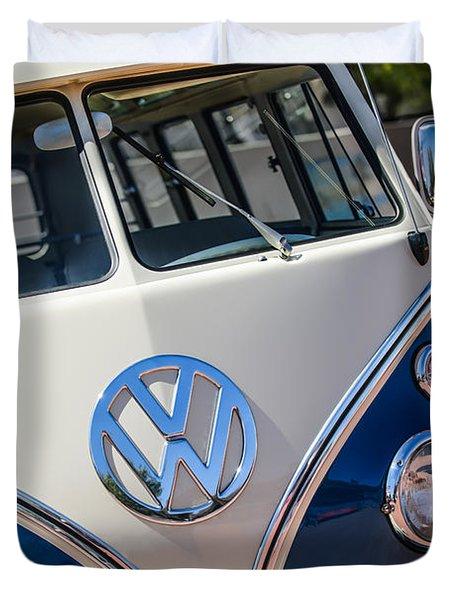 1966 Volkswagen Micro Bus -1012c Duvet Cover