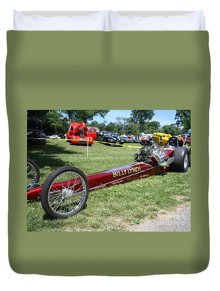 1967 Billy Lynch's Top Fuel Dragster Duvet Cover