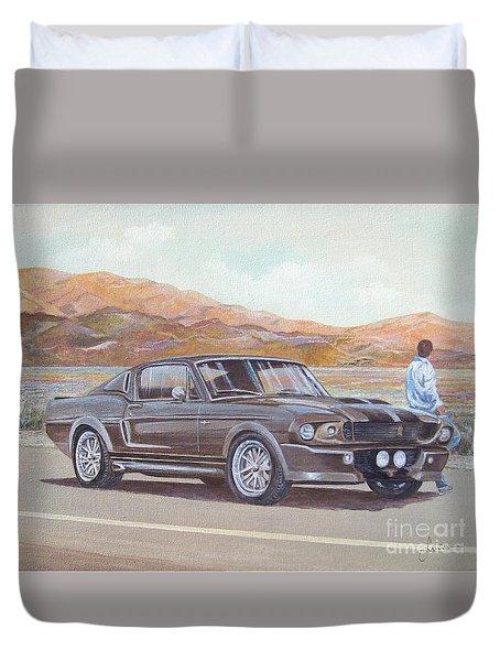 1967 Ford Mustang Fastback Duvet Cover