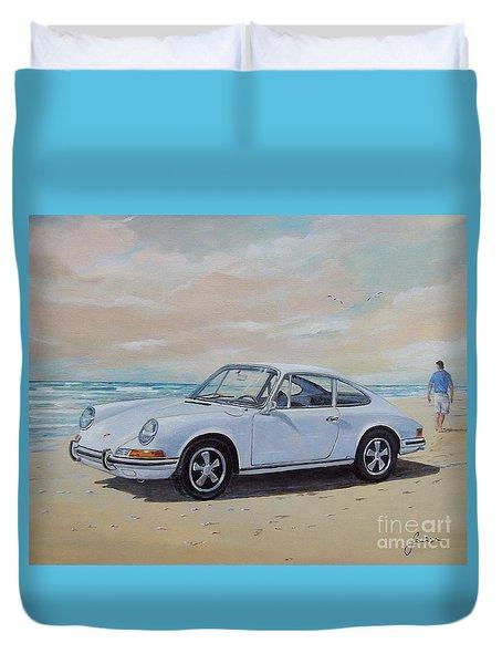 1967 Porsche 911 S Coupe Duvet Cover