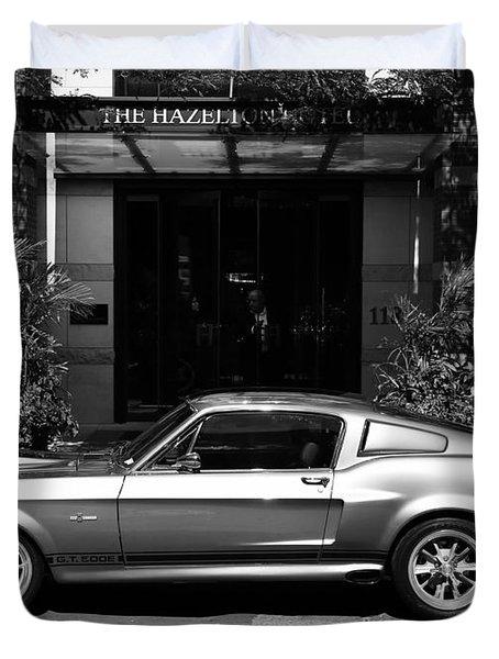 1967 Shelby Mustang B Duvet Cover