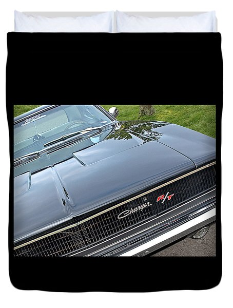 1968 Dodge Charger Duvet Cover
