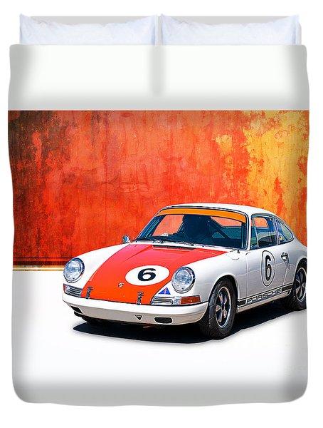 1968 Porsche 911 Duvet Cover