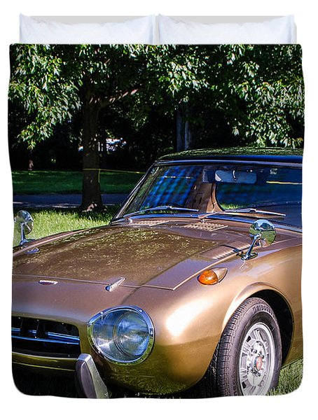 1968 Toyota Sports 800 Duvet Cover