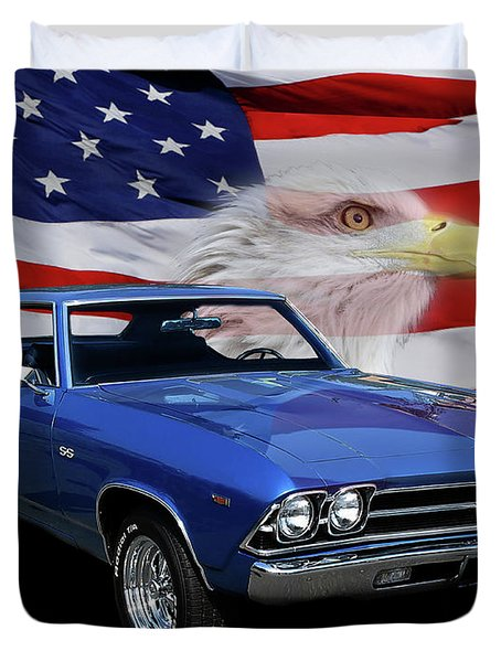 1969 Chevelle Tribute Duvet Cover
