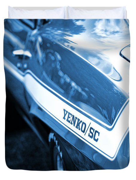 1969 Chevrolet Camaro Yenko Sc 427 Duvet Cover by Gordon Dean II