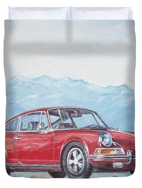 1969 Porsche 911 2.0 S Duvet Cover