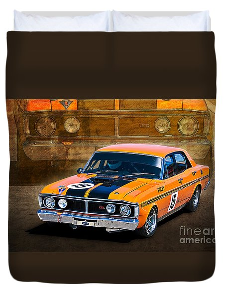 1971 Ford Falcon Xy Gt Duvet Cover
