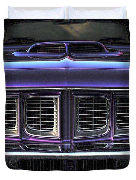 1971 Plymouth 'cuda 440 Duvet Cover by Gordon Dean II