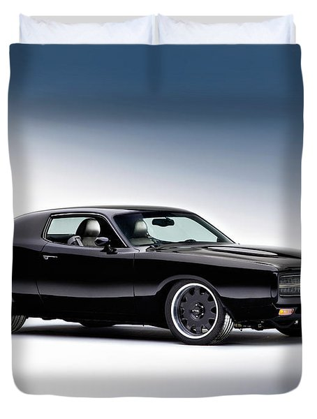 1972 Dodge Charger Duvet Cover