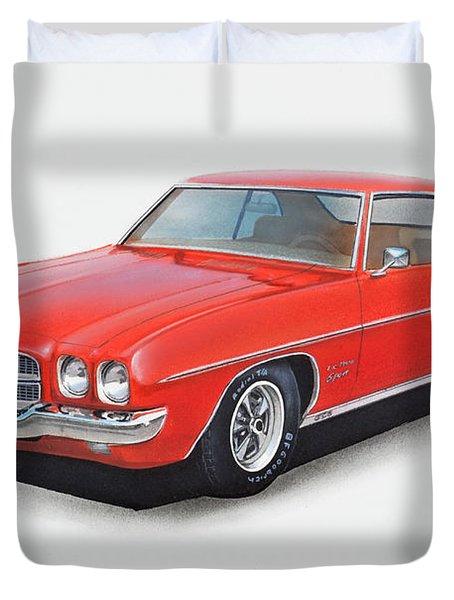 1972 Pontiac Lemans Duvet Cover