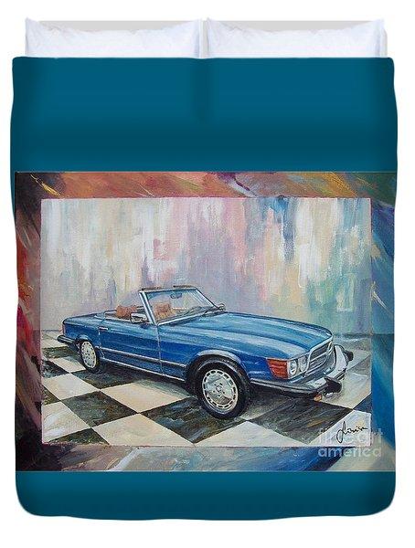 1976 Mercedes-benz 450 Sl Duvet Cover