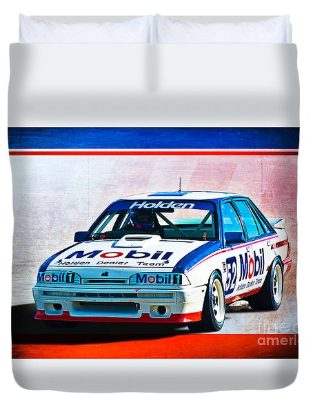 1987 Vl Commodore Group A Duvet Cover by Stuart Row