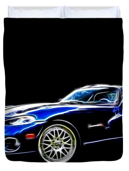 1997 Viper Hennessey Venom 650r 5 Duvet Cover