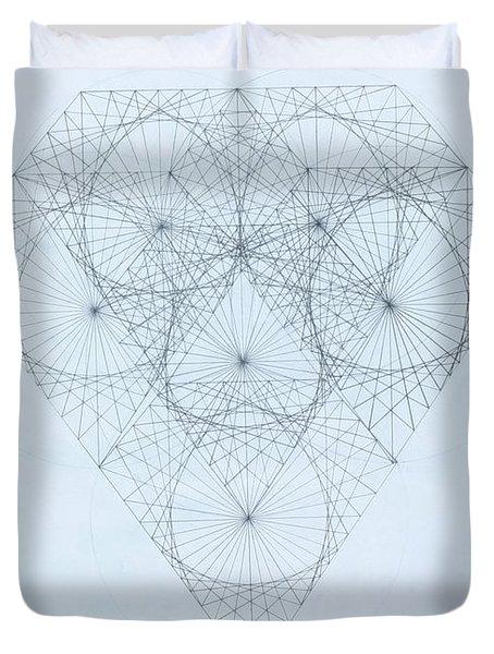 Diamond Quanta Duvet Cover