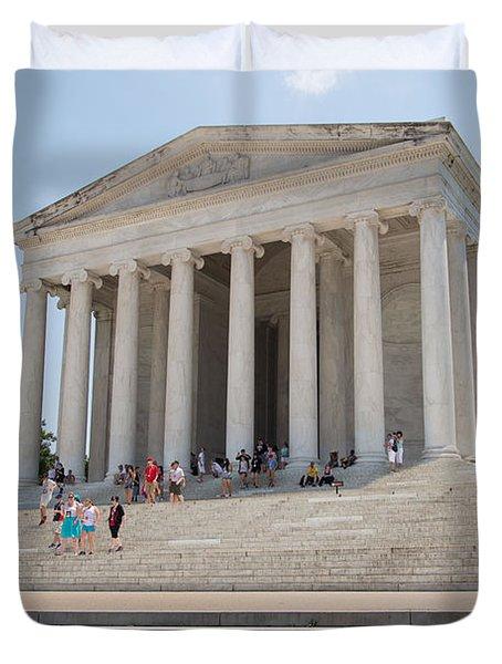 Thomas Jefferson Memorial Duvet Cover