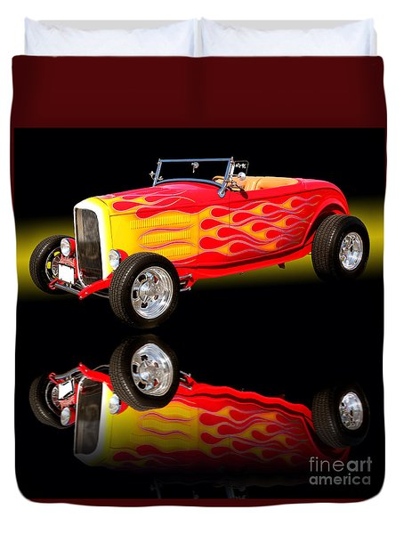 1932 Ford V8 Hotrod Duvet Cover