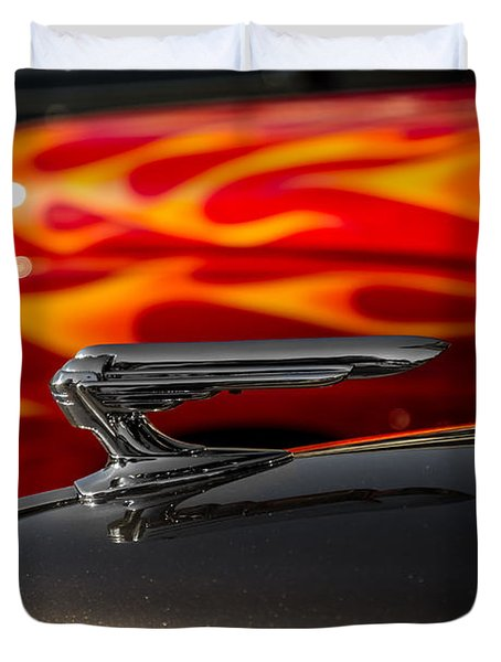 1939 Graham Coupe Hood Ornament Duvet Cover