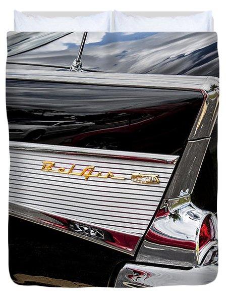 1957 Chevrolet Bel Air Duvet Cover