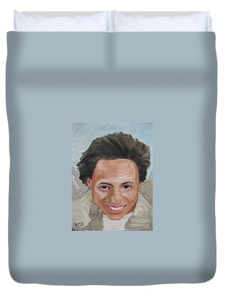 A Time To Be Young Duvet Cover