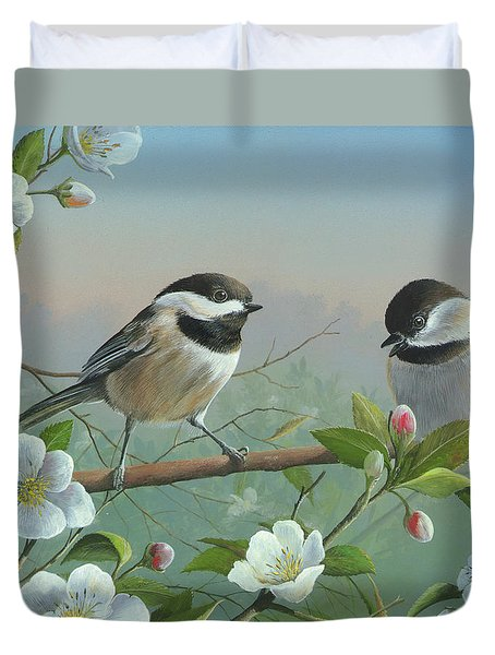 A Wonderful Day Duvet Cover