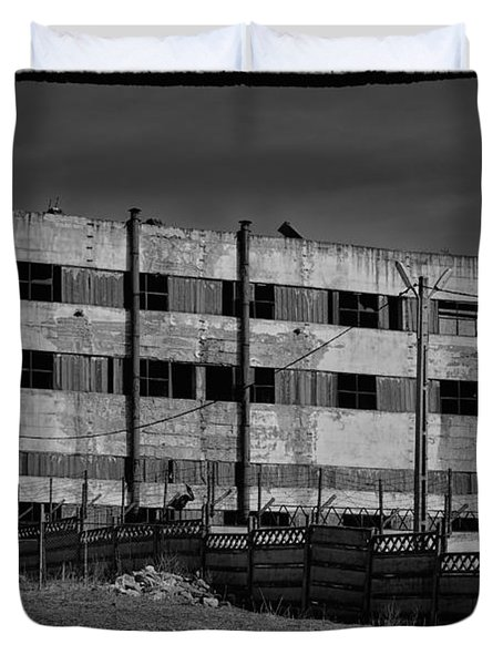 Abandoned Factory At Vadu Duvet Cover by Gabriela Insuratelu