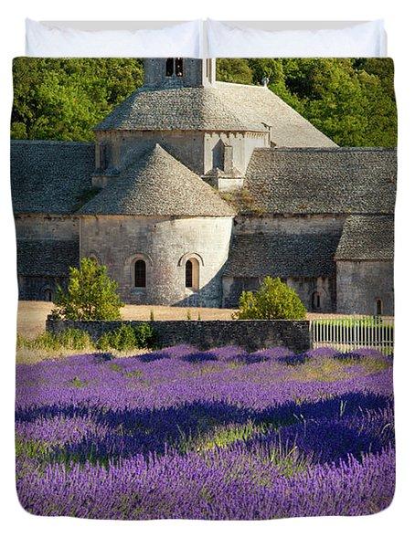Abbaye De Senanque Duvet Cover by Brian Jannsen