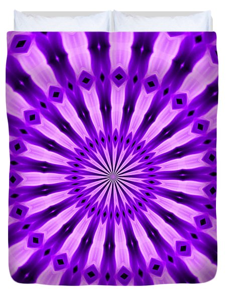 Abstract 122 Duvet Cover by J D Owen
