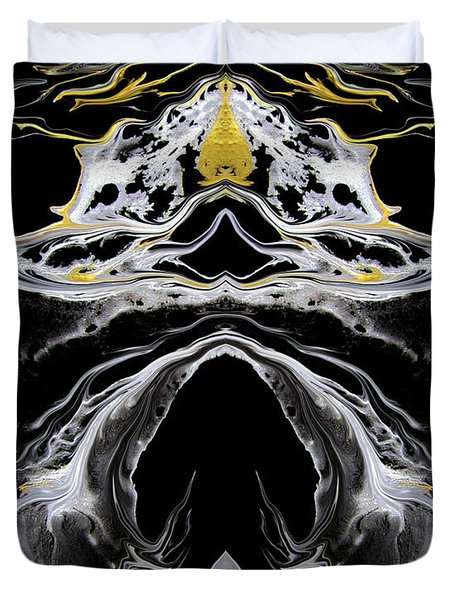 Abstract 138 Duvet Cover by J D Owen