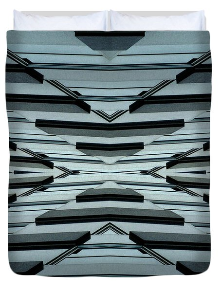 Abstract Buildings 3 Duvet Cover