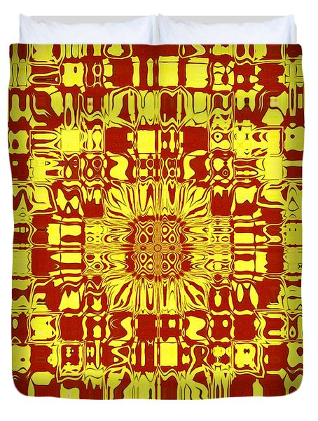 Abstract Series 10 Duvet Cover by J D Owen
