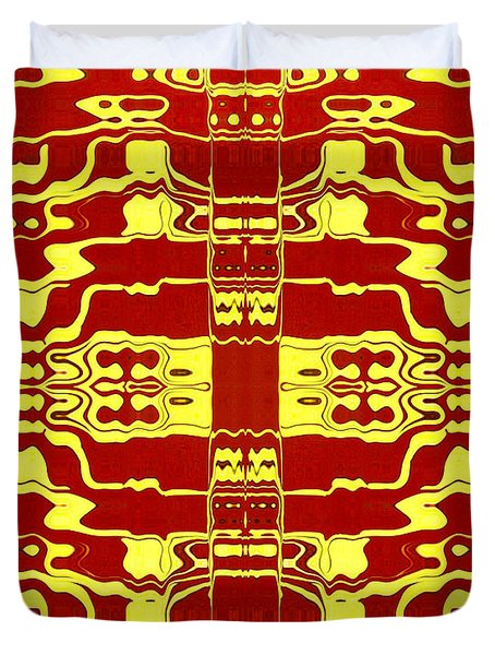 Abstract Series 2 Duvet Cover by J D Owen
