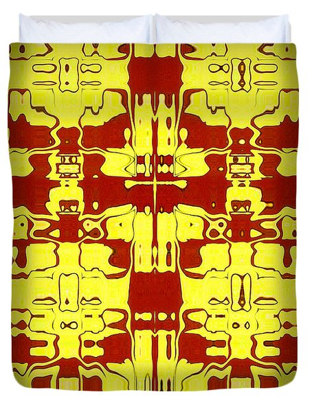 Abstract Series 5 Duvet Cover by J D Owen