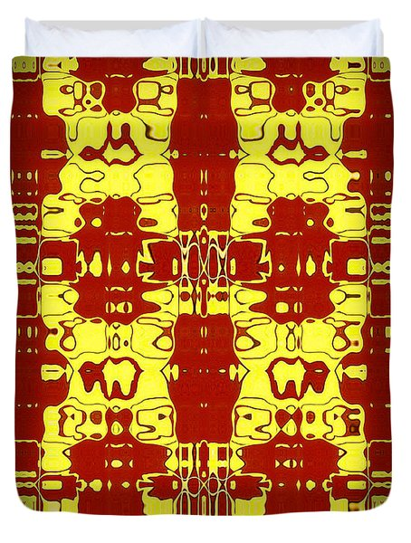 Abstract Series 8 Duvet Cover by J D Owen