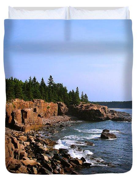 Acadia Coast Duvet Cover