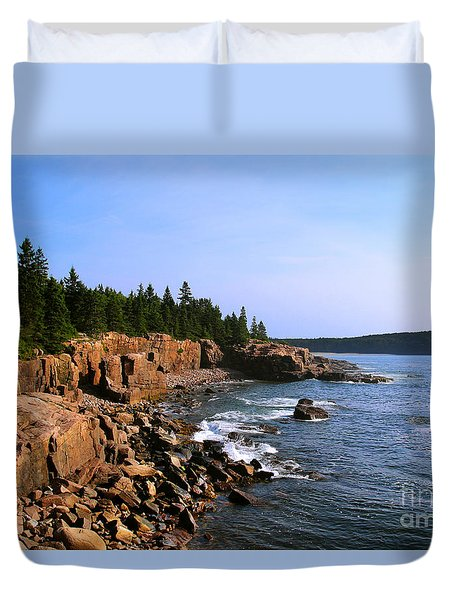 Acadia Coast Duvet Cover