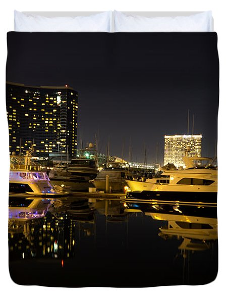 After Dark Duvet Cover by Heidi Smith