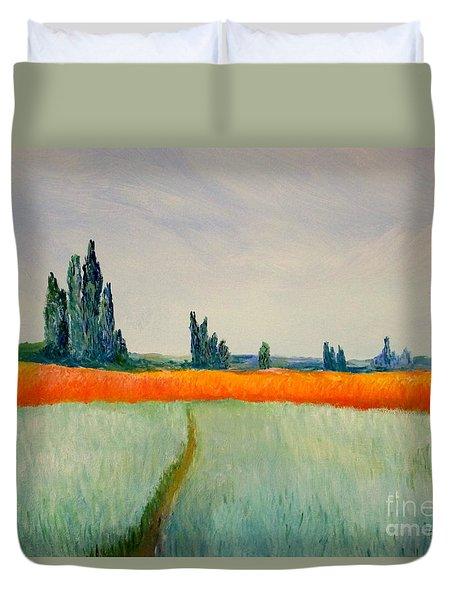 After Monet Duvet Cover