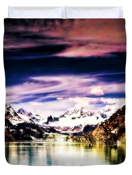 Duvet Cover featuring the photograph Alaska by Bill Howard